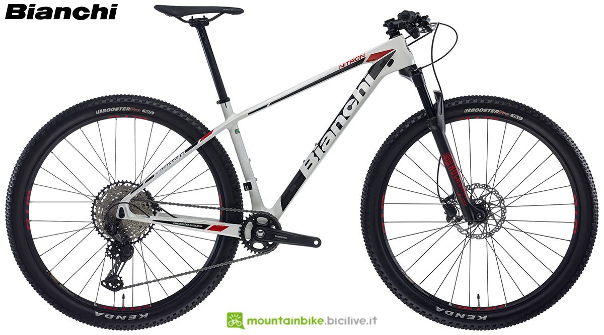 Una bici Bianchi Nitron 9.3 2020