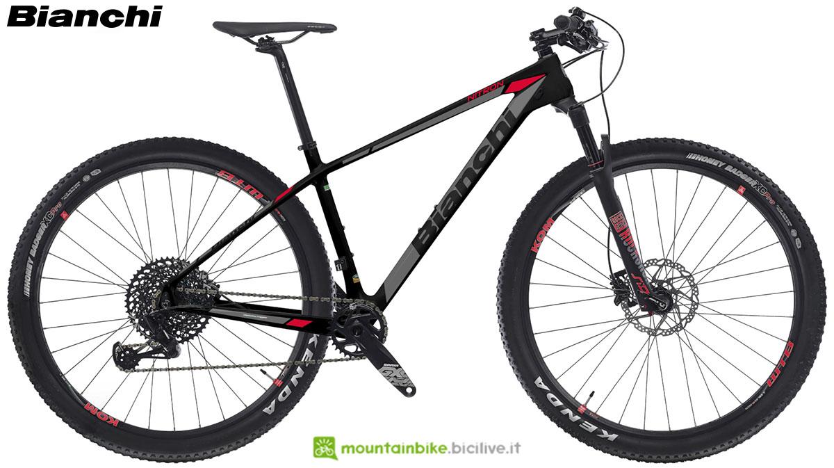 Una bici Bianchi Nitron 9.4 2020