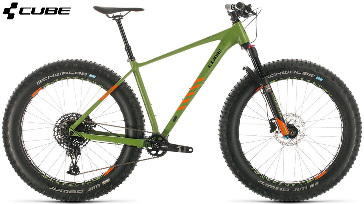 Una Fat bike Cube Nutrail 2020