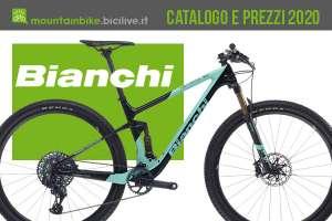 Le mountain bike Bianchi 2020: catalogo e listino prezzi