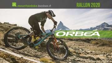 Orbea Rallon 2020, ora con più travel e un nuova sospensione