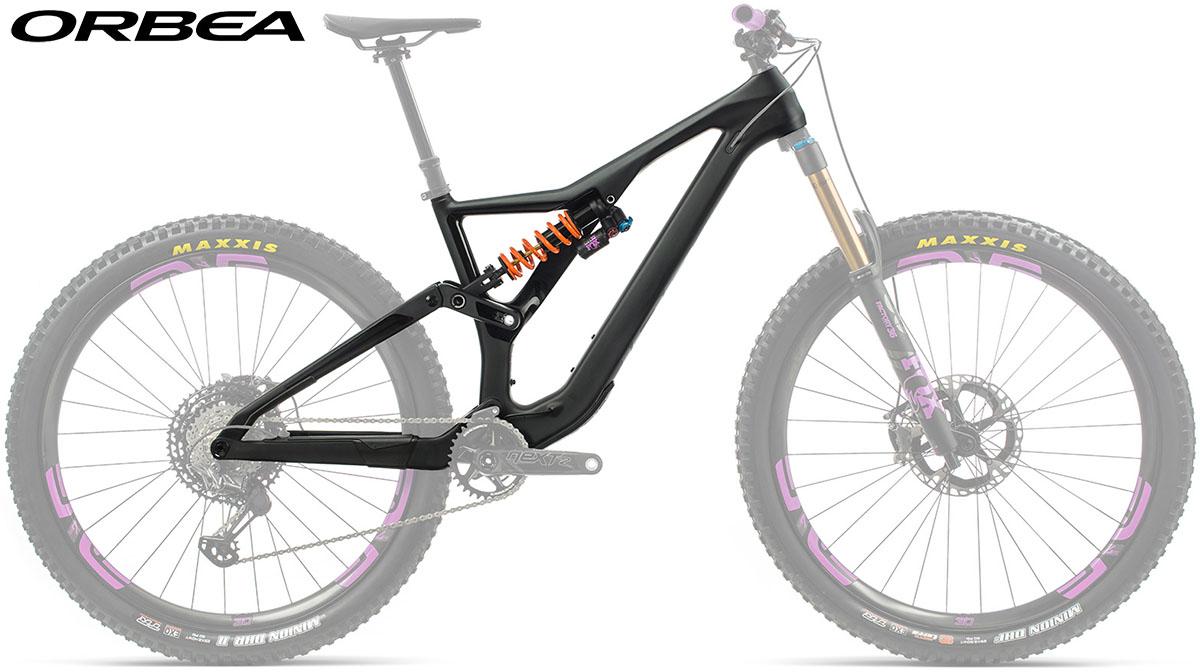 Una bici Orbea Rallon 2020 + FOX Float X2