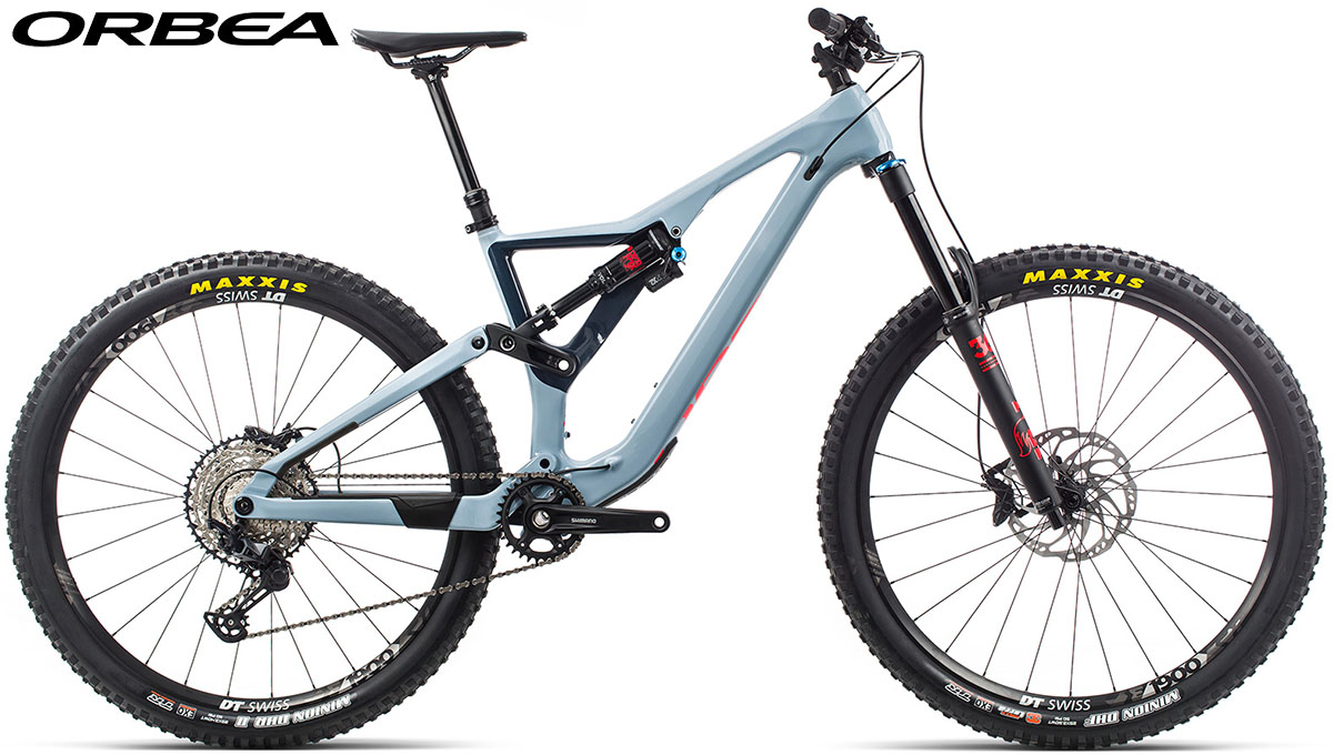 Una bici Orbea Rallon M-20 2020