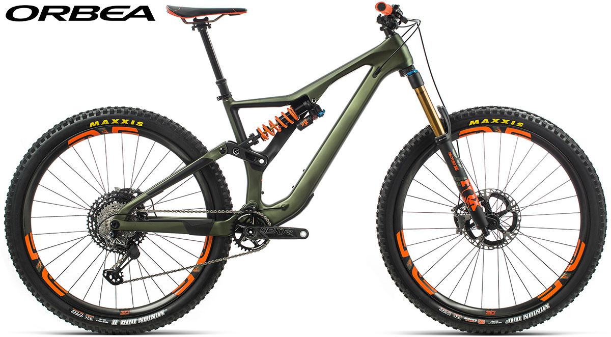 Una bici Orbea Rallon M-LTD 2020