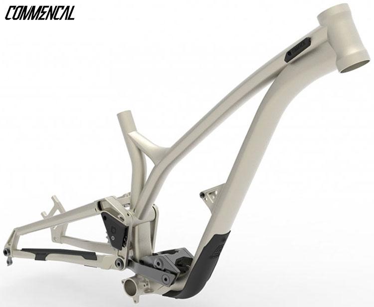 Il telaio montato sulla bici Commencal Supreme DH 2020