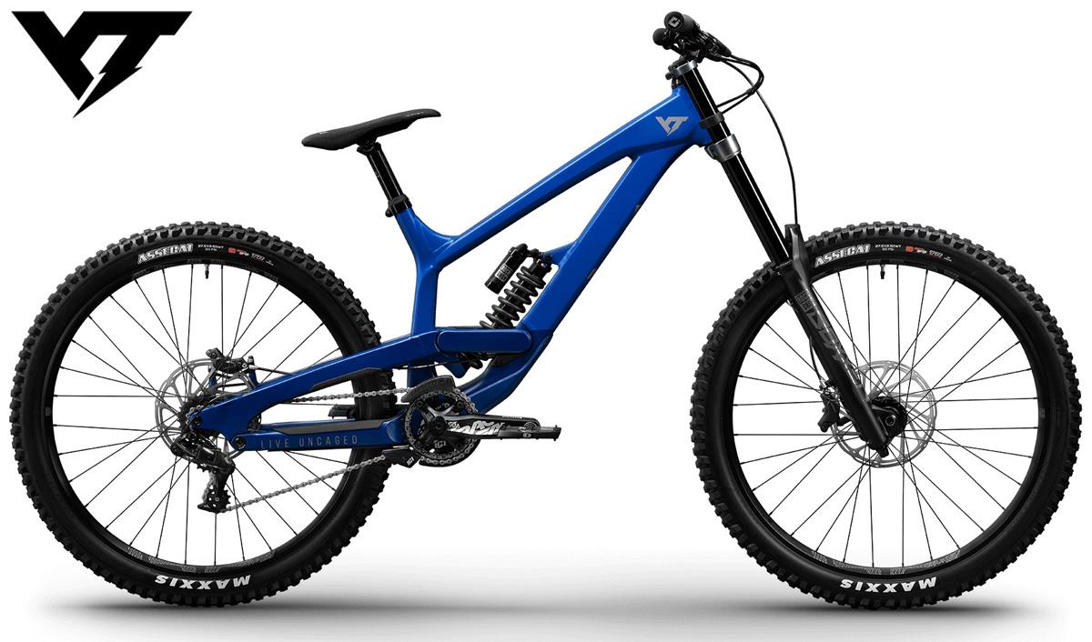 Una mountain bike biammortizzata YT Tues Base 2020