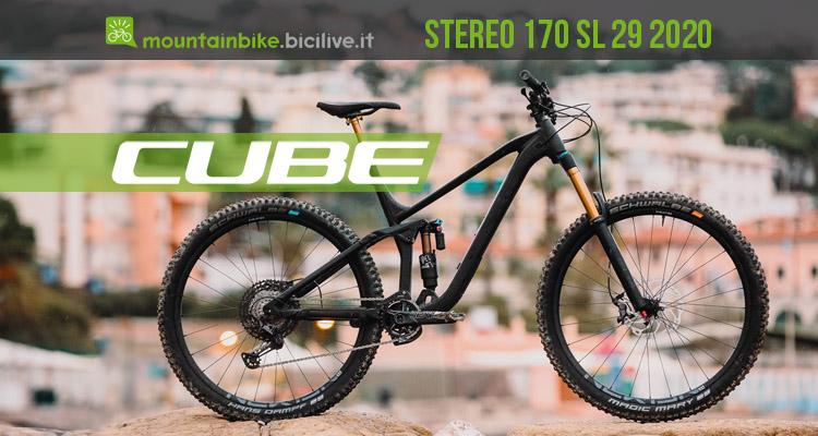 Cube Stereo 170 SL 29 2020