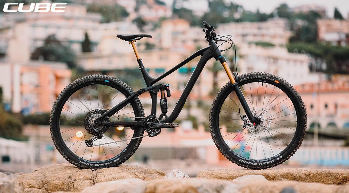 La bici Cube Stereo 170 SL 29 2020