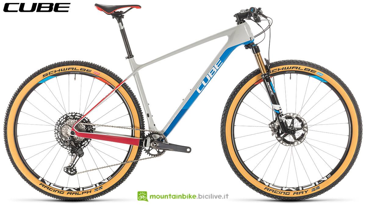 Una bici Cube Elite C:68X SL 2020