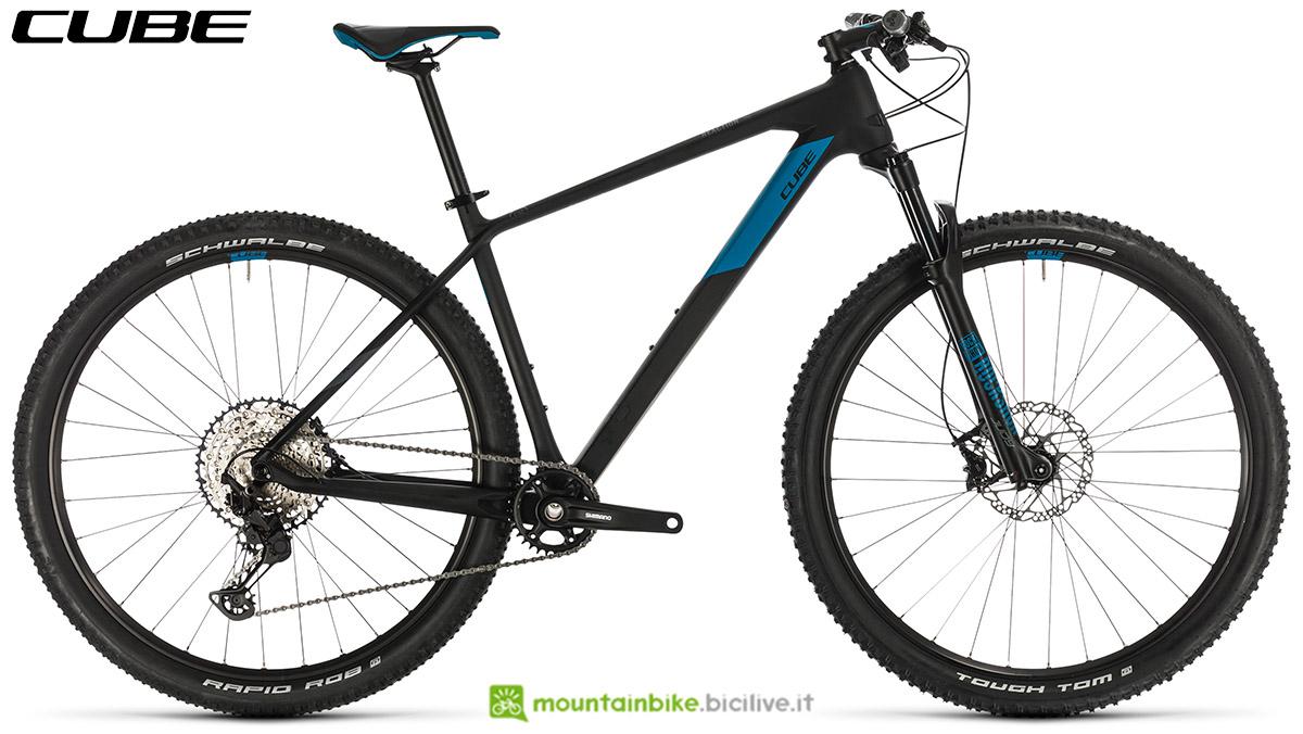 Una bici Cube Reaction C:62 Pro 2020