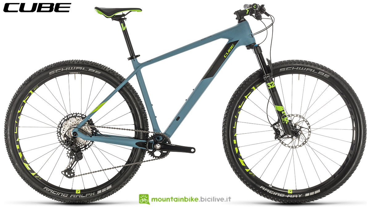 Una bici Cube Reaction C:62 SL 2020