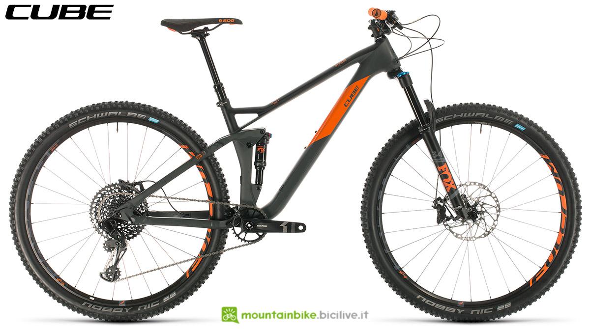 Una bici Cube Stereo 120 HPC TM 29 2020