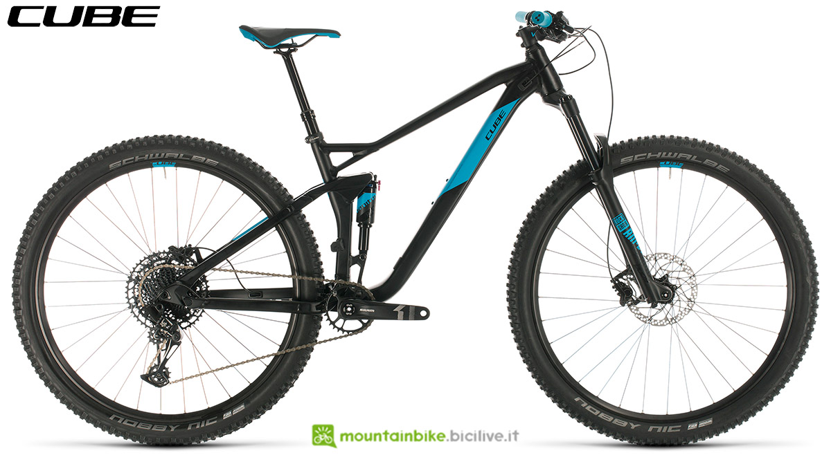 Una bici Cube Stereo 120 Pro 29 2020