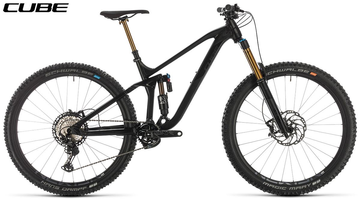Una mtb La tabella con le misure e le geometrie della mountain bike  Cube Stereo 170 SL 29 2020
