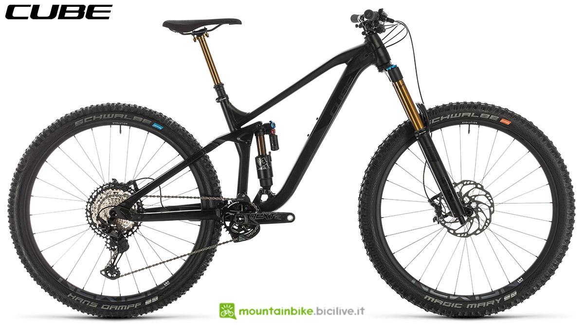 Una bici Cube Stereo 170 SL 29 2020