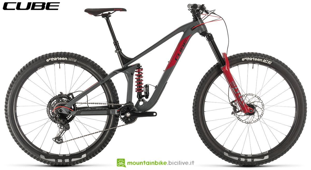 Una bici Cube Stereo 170 TM 29 2020