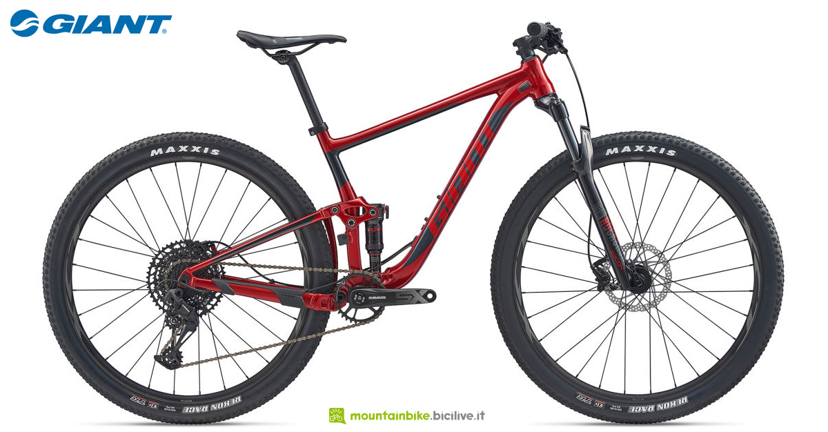 Una mountain bike Giant Anthem 29 3