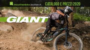 Giant mountain bike 2020: catalogo e listino prezzi mtb
