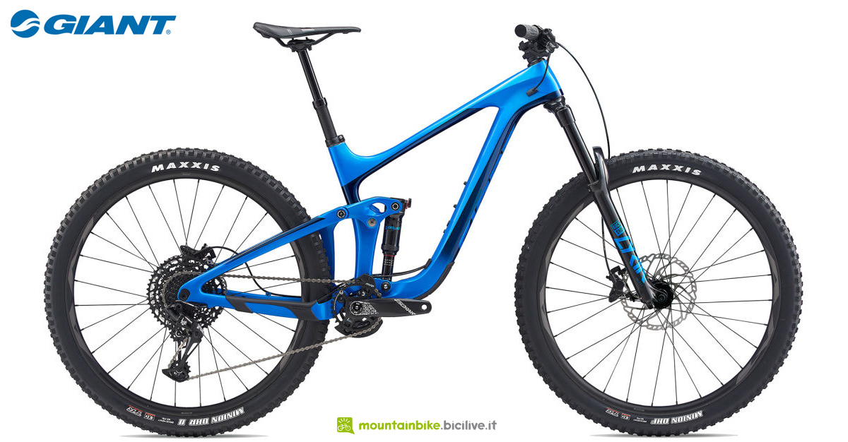 Una mountain bike Giant Reign Advanced Pro 29 2 dal catalogo 2020
