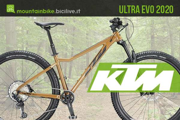 Mountain bike hardtail economica KTM Ultra EVO 2020