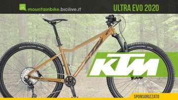 KTM Ultra EVO 2020: una nuova mtb front entry level per divertirsi davvero