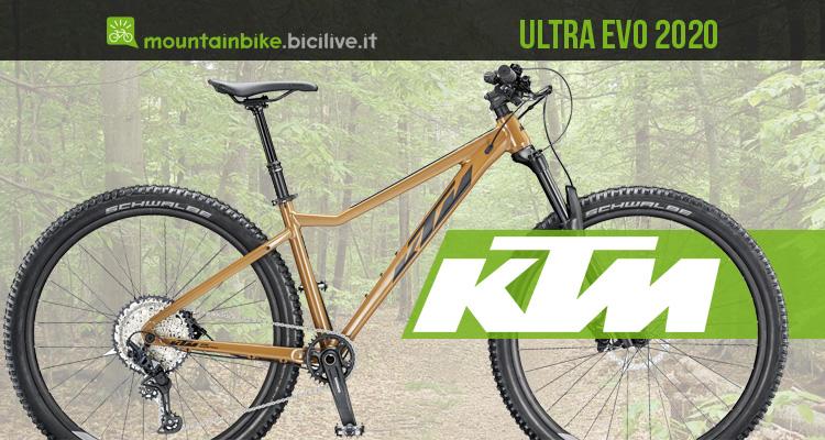 Mountain bike hardtail economica KTM Ultra EVO 2020