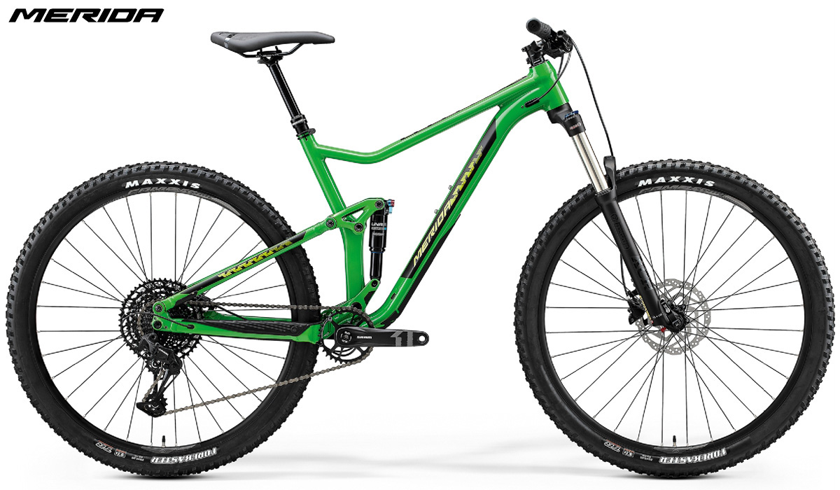 Una mtb Merida One-Twenty 9.400 gamma 2020 colore verde