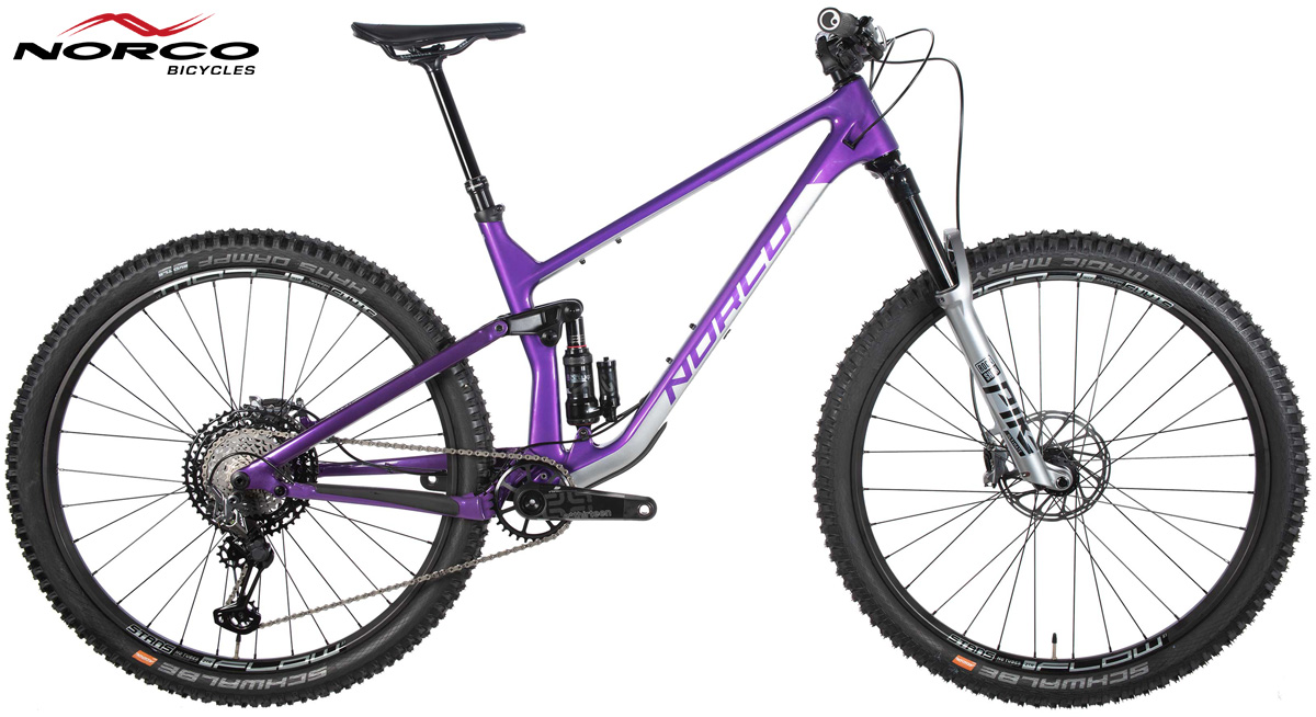 Una trail bike Norco Optic C1 2020