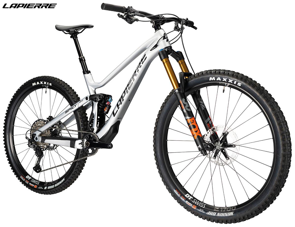 Una bici Lapierre Spicy Fit 8.0 dettaglio