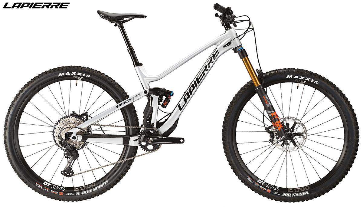 Una bici Lapierre Spicy Fit 8.0 2020