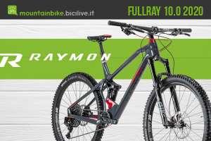 R Raymon FullRay 10.0 2020: mtb full suspension in carbonio