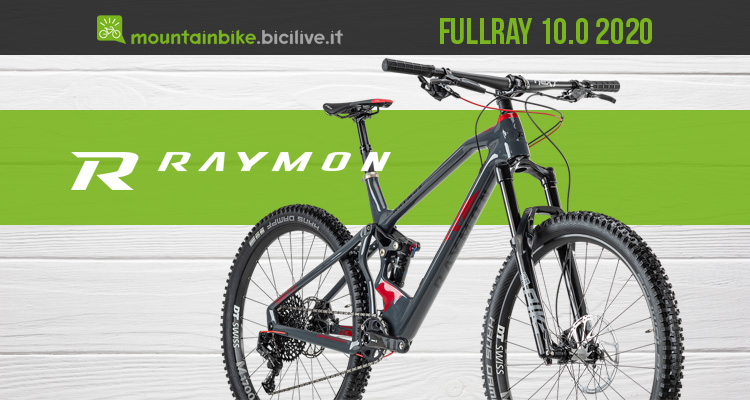 R Raymon FullRay 10.0 2020: mtb full suspension in carbonio