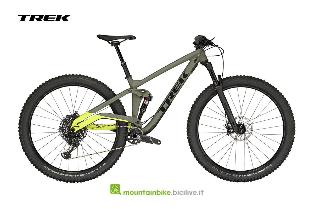 bicicletta Full Stache 8 verde  oliva opaco