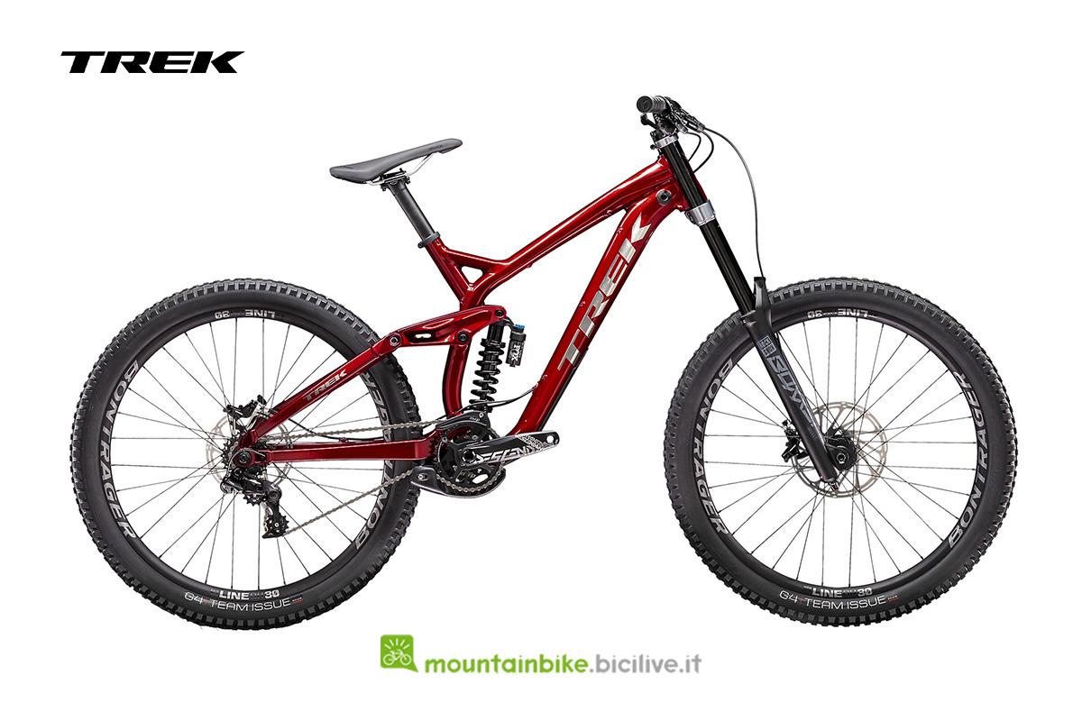bici Session 8 27.5 rosso mettallizzato