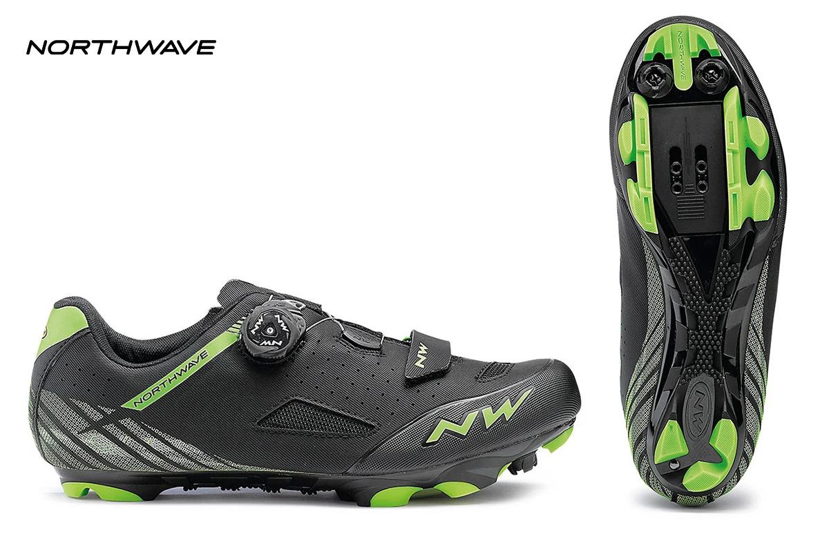 una scarpa Northwave Origin Plus con visuale laterale e della suola