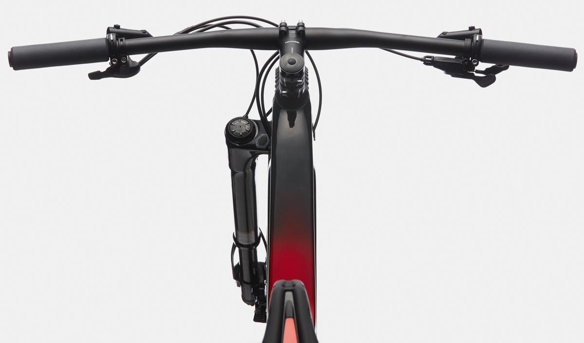 foto del Il cockpit della nuova mountain bike Cannondale Scalpel.