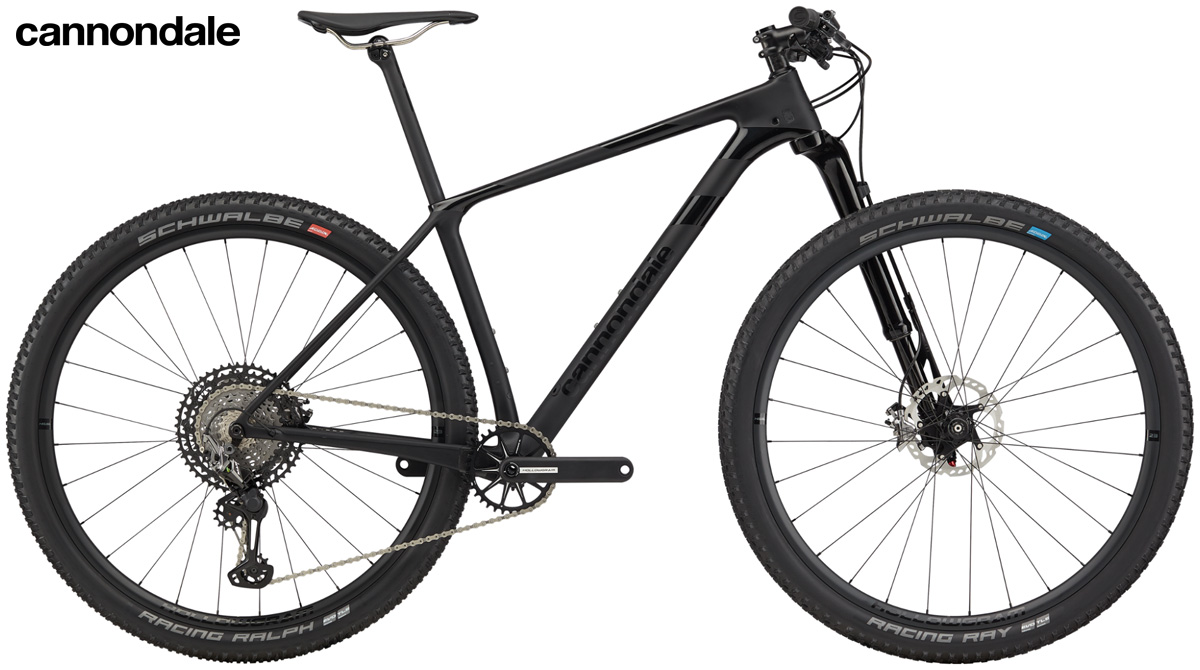 Una mtb front suspended Cannondale F-Si Hi-MOD 1 2020