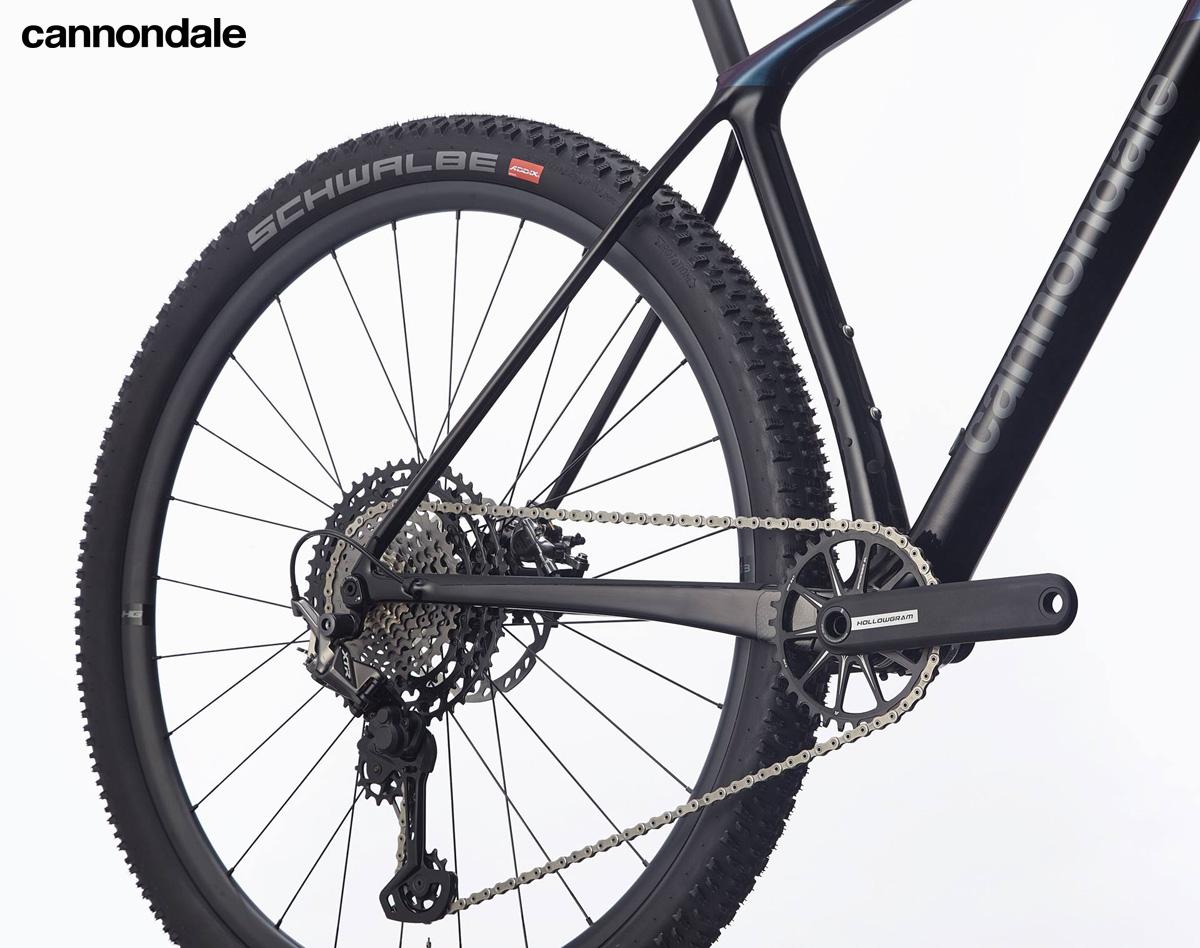 Il gruppo trasmissione equipaggiato sulla mountain bike front Cannondale F-Si Hi-MOD 1 2020