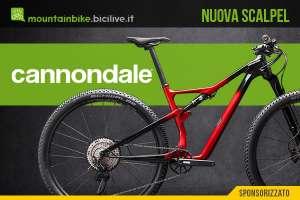 Cannondale presenta la nuova Scalpel con carro FlexPivot