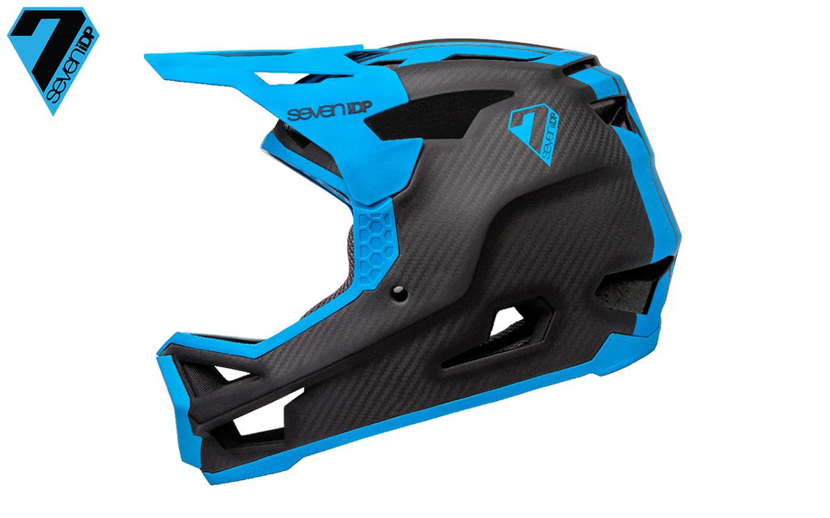 Il casco enduro Seven iDP Project.23 di profilo