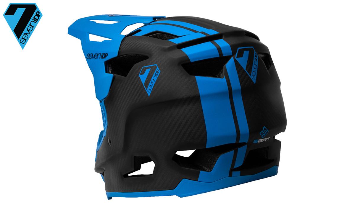 La parte posteriore del casco per mountain bike Seven iDP Project.23