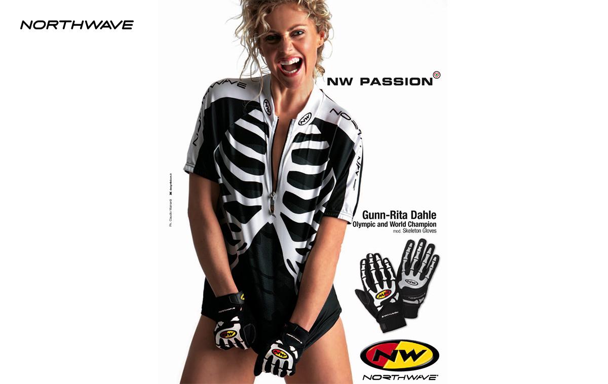 pubblicità northwave skeletron