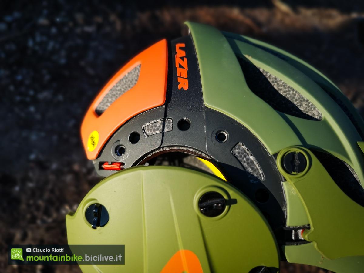 foto delle viti del casco lazer