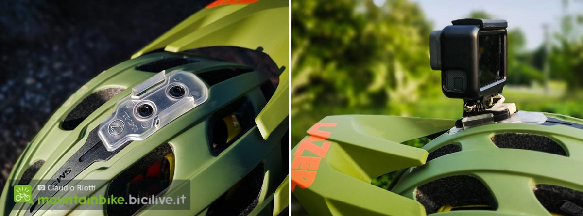 foto del supporto del casco lazer revolution