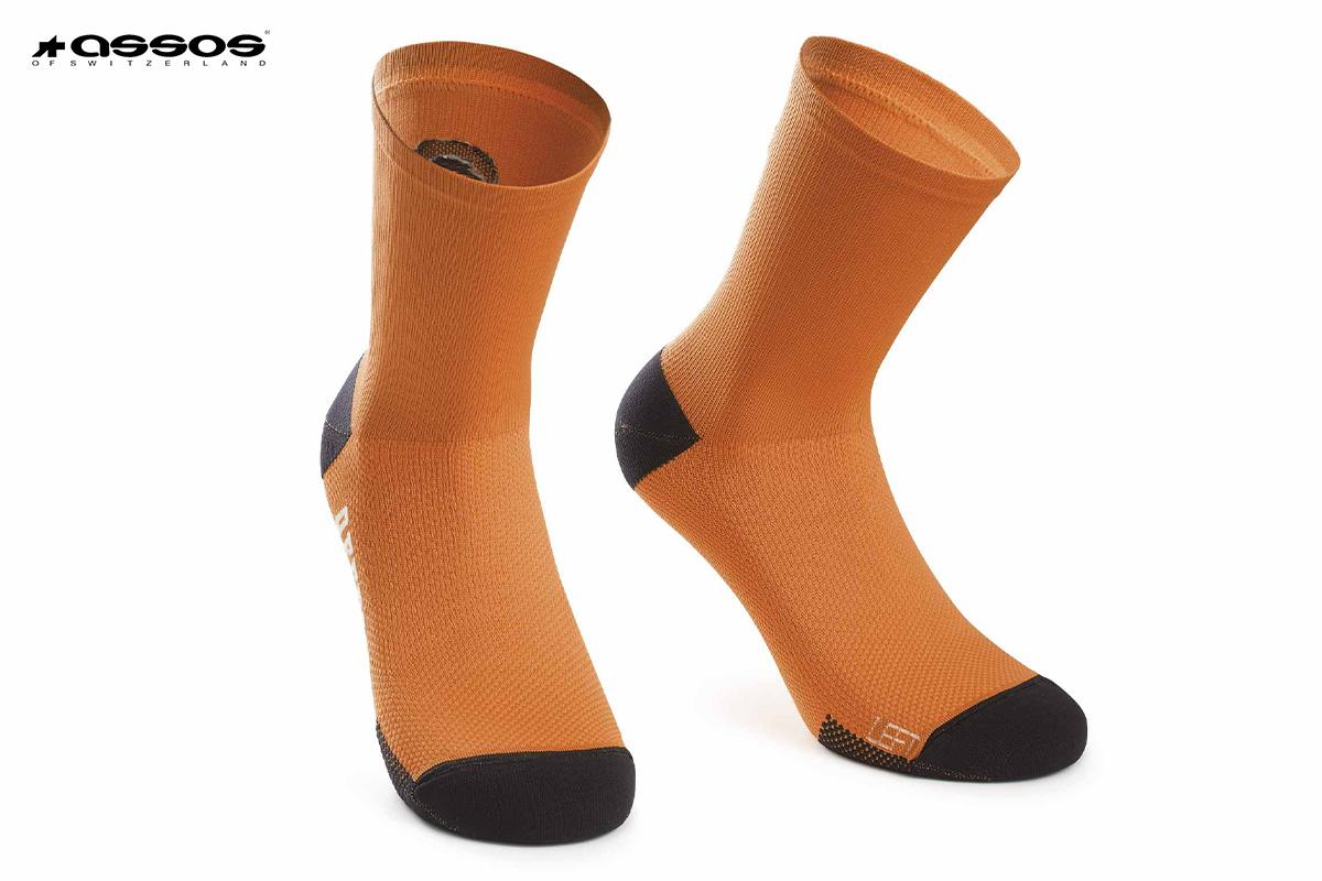 calzini Assos XC Socks arancioni