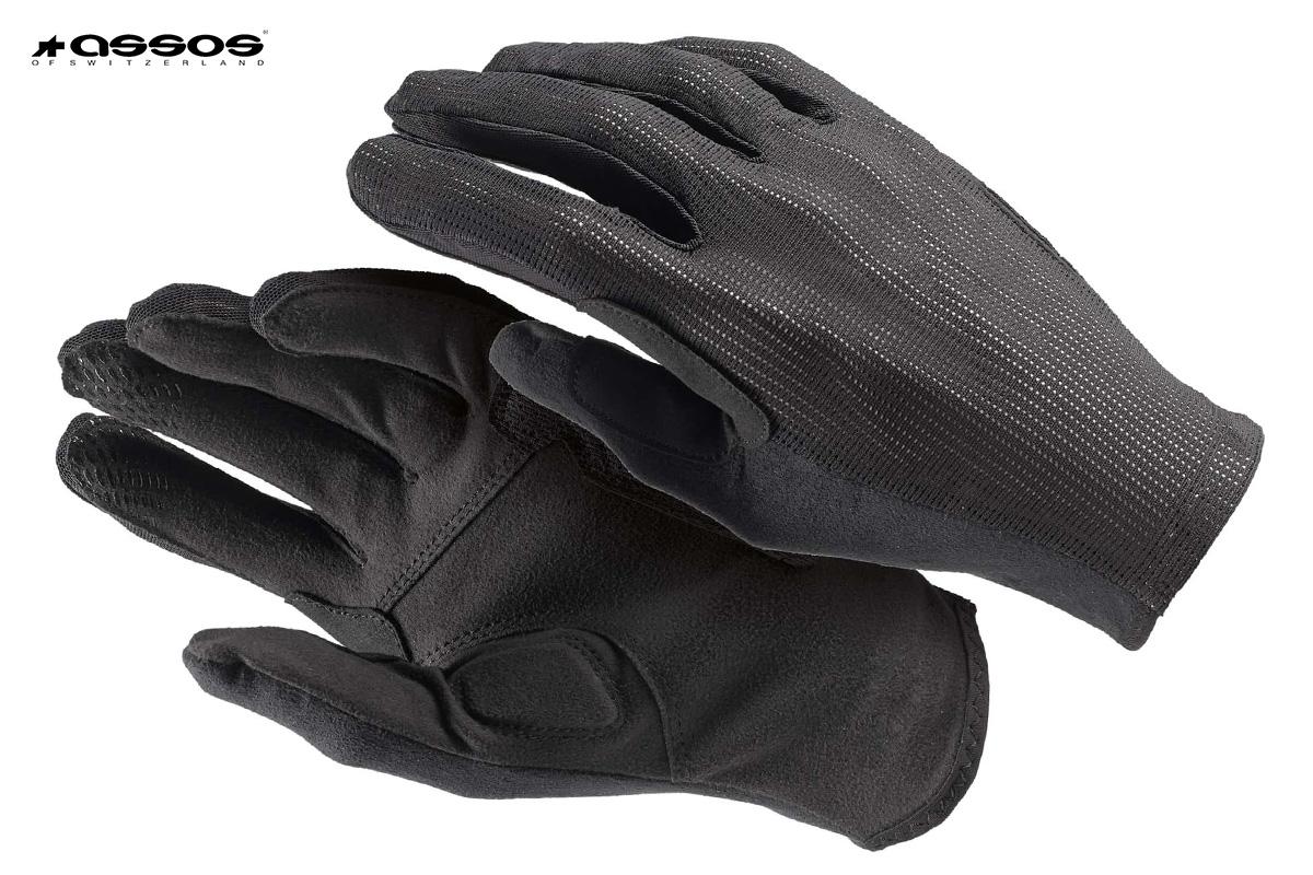 guanti neri Assos XC FF Gloves