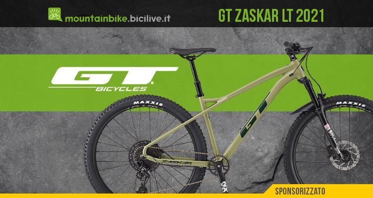 GT Zaskar LT 2021: MTB front aggressiva per il trail riding