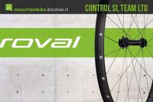 copertina dell'articolo con un cerchio roval control sl team ltd visto a tre quarti