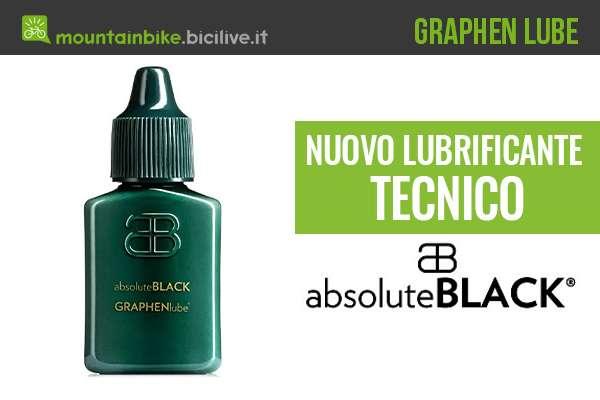Absolute Black Graphen Lube: lubrificante per catena al grafene
