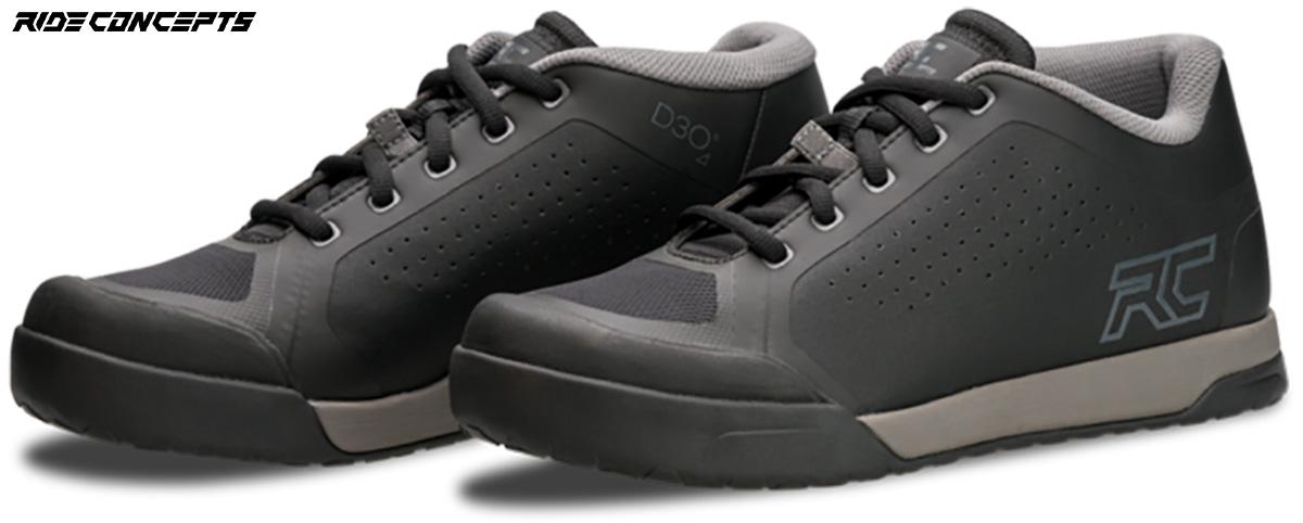 un paio di scarpe per mtb ride concepts powerline 2020 del colore grigio scuro